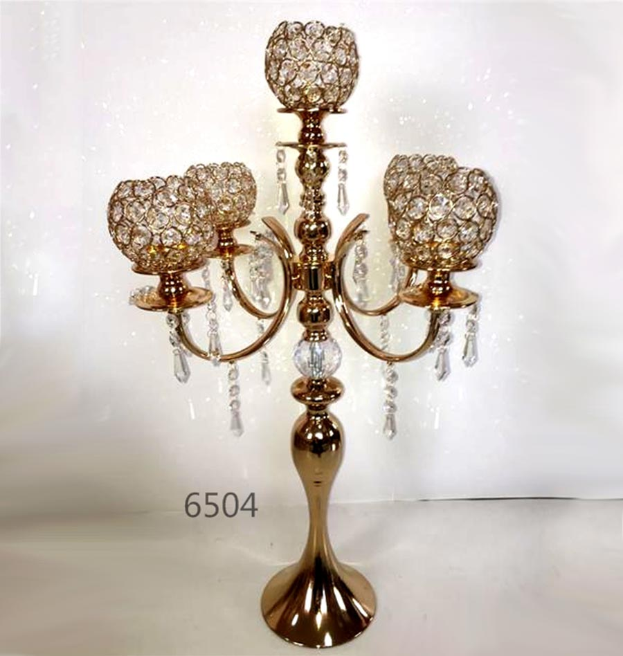 Crystal Candle Holder 6504