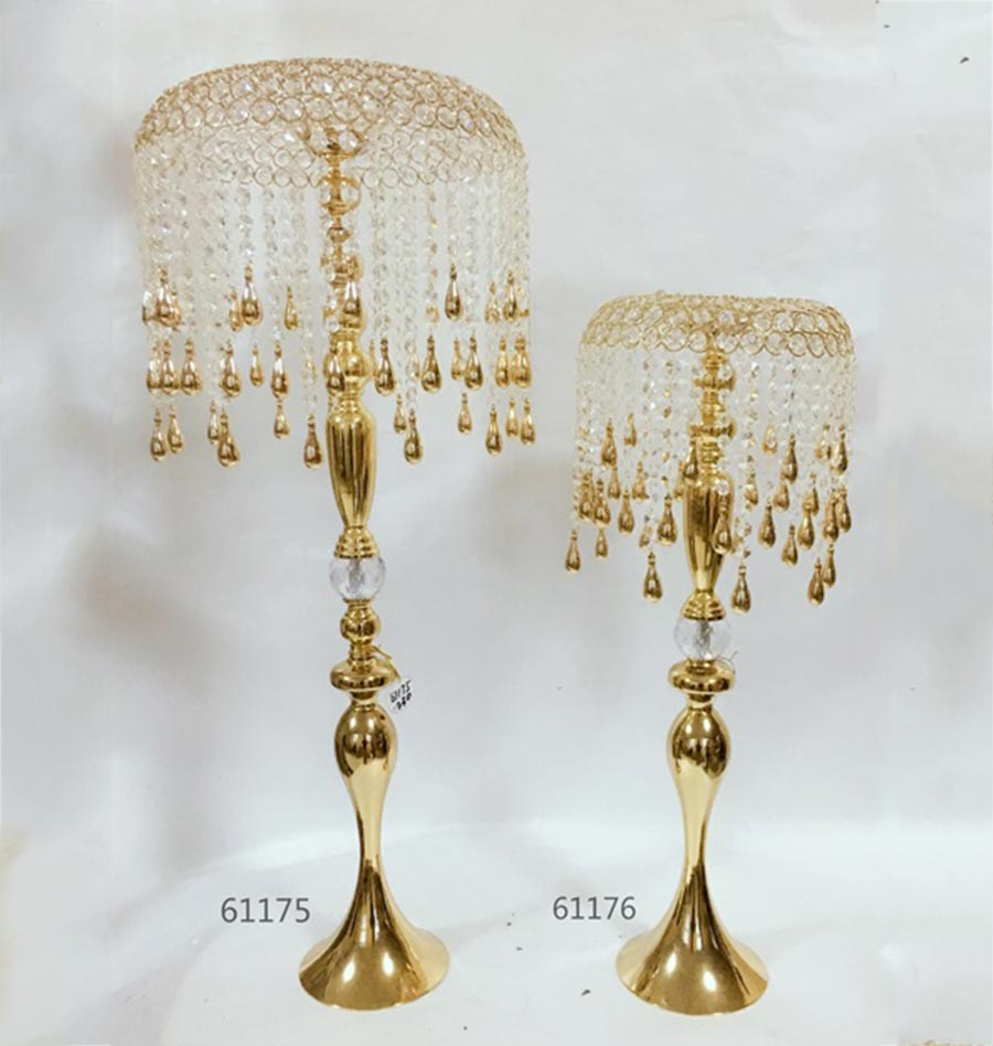hot sale wedding Crystal Candle Holder 61175 61176