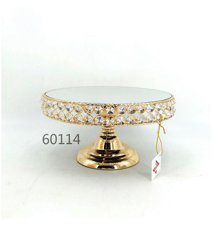 golden 60114 crystal metal tray