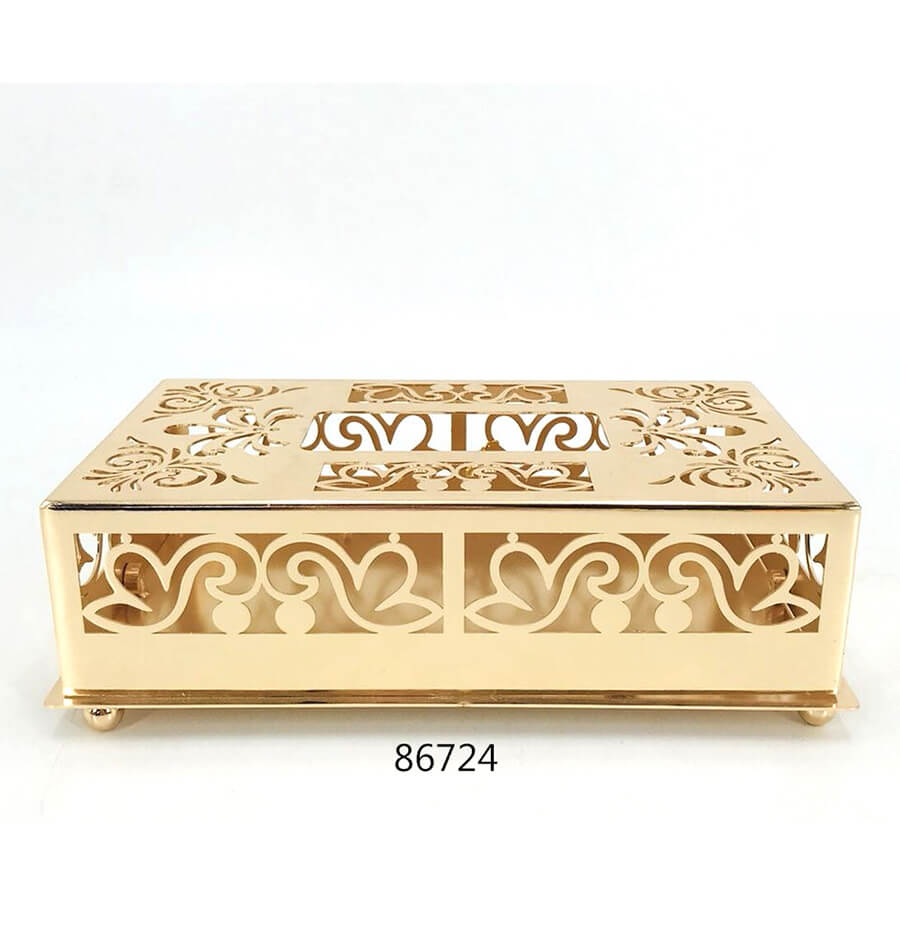 golden 86724 metal tissue box