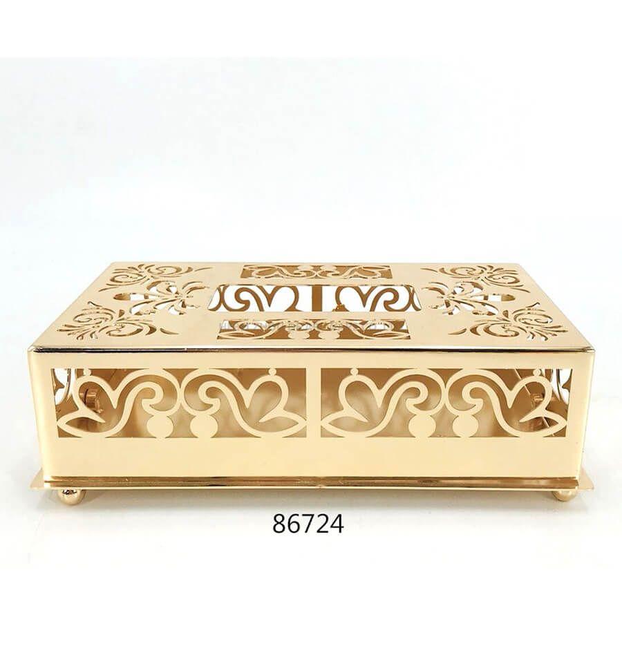 golden 86724 metal tissue box