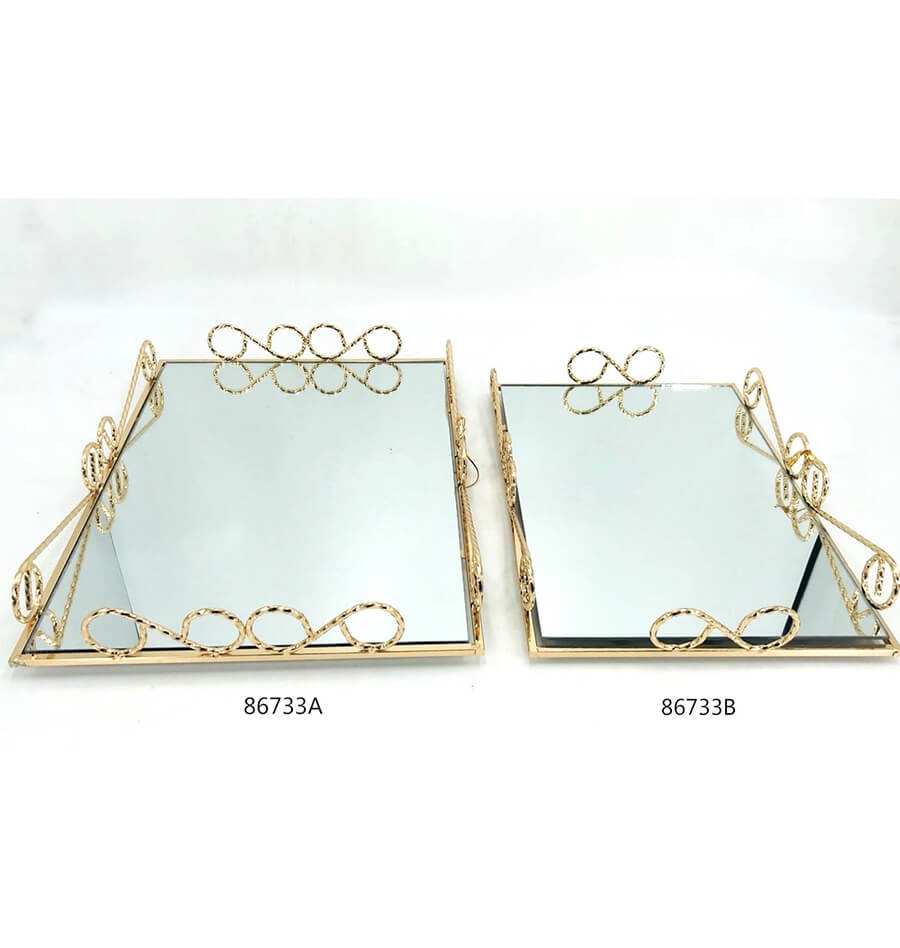 golden 86733A 86733B metal tray