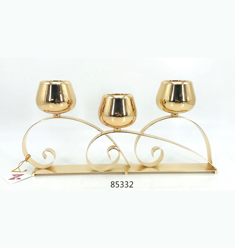 3 holders Candle Holder for table 85332