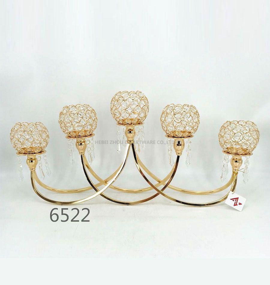 5 arm Candelabra crystal candelabra 6522