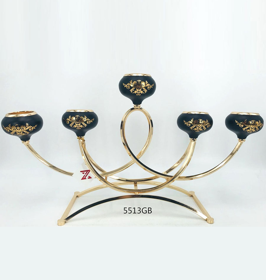fashion Candle Holder Color  5513GB
