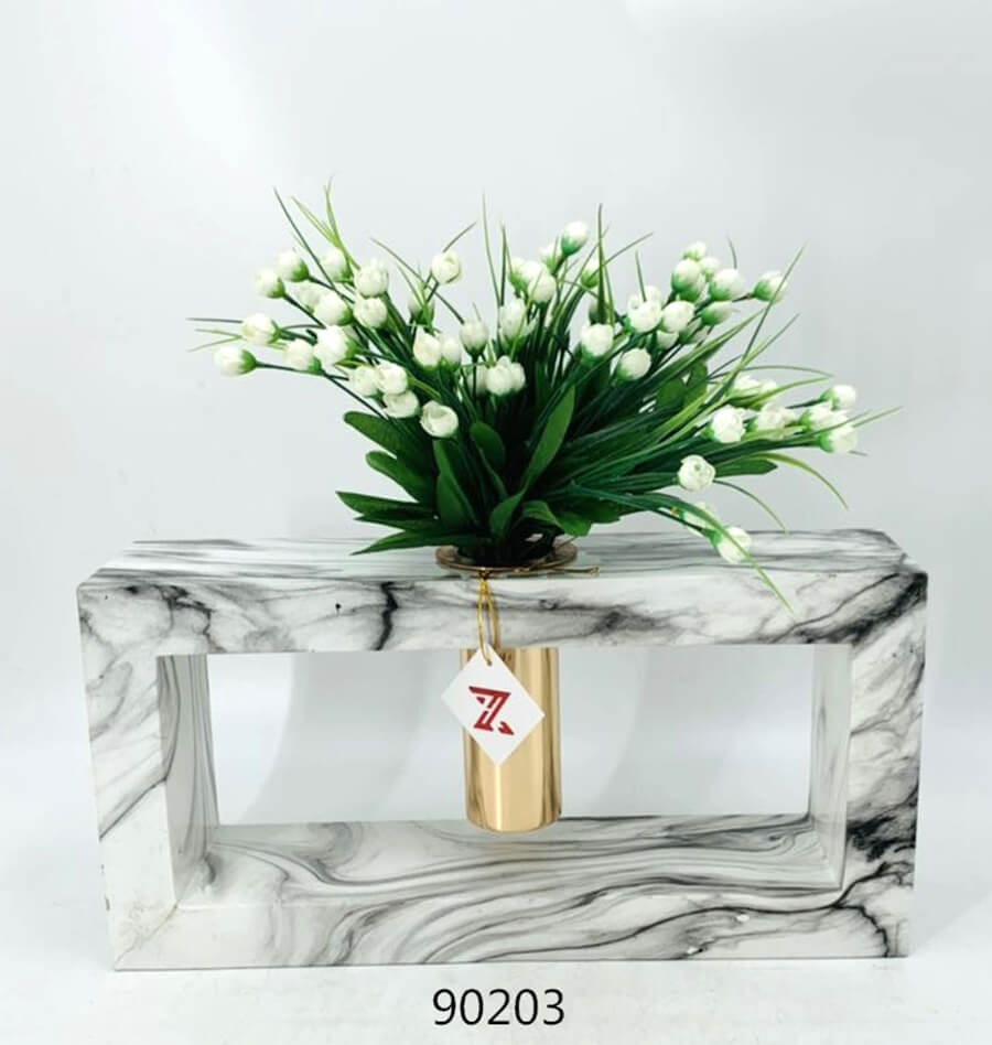 marble pattern 901203 home decoration vase