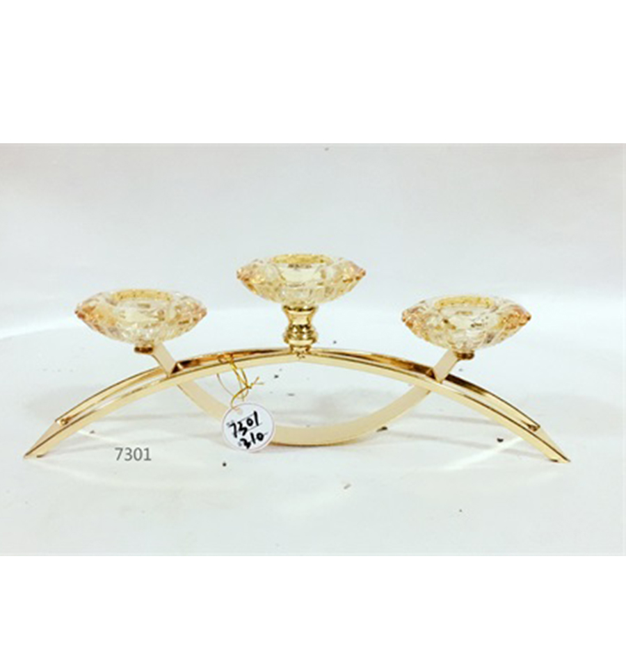 glass candle holder for wedding 7301