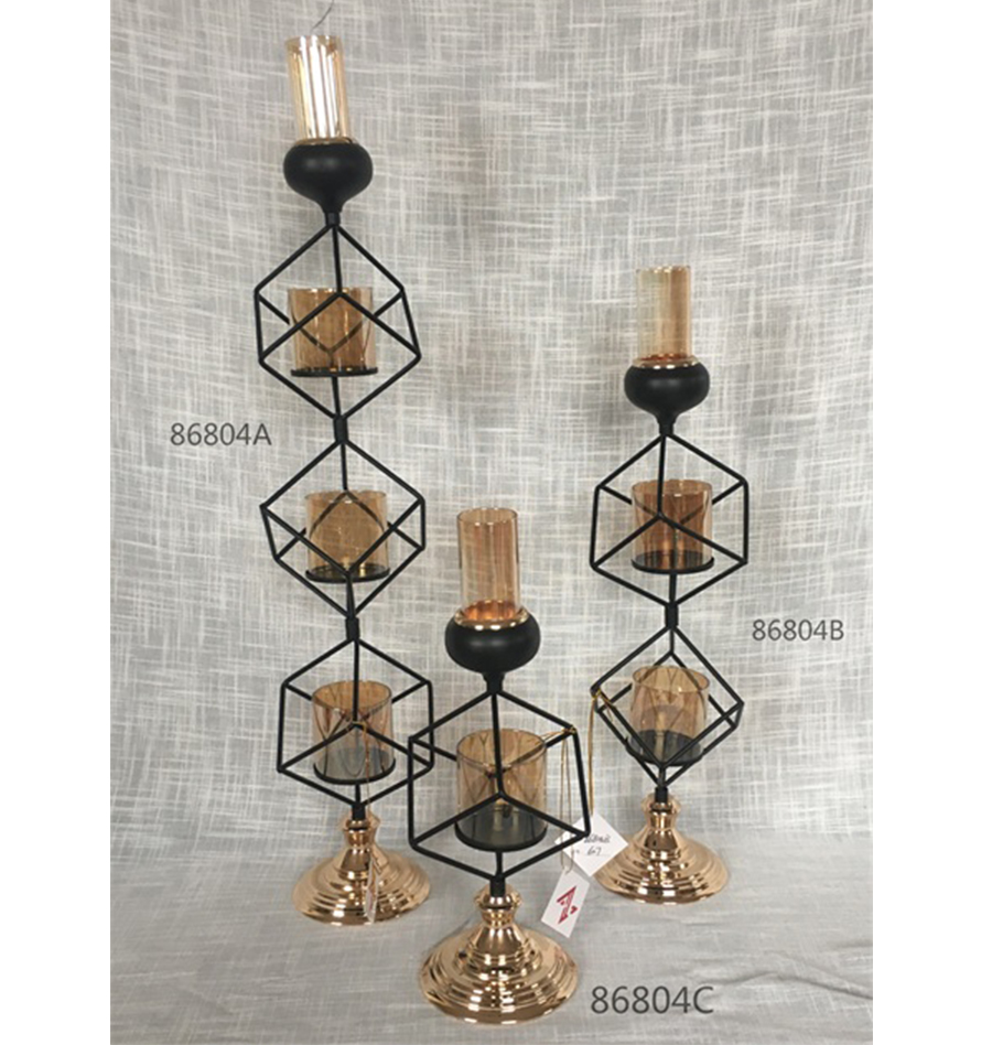 balck 86804A 86804B 86804C candle holder