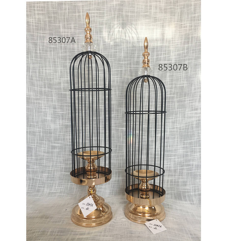 metal candle holder 85307A 85307B