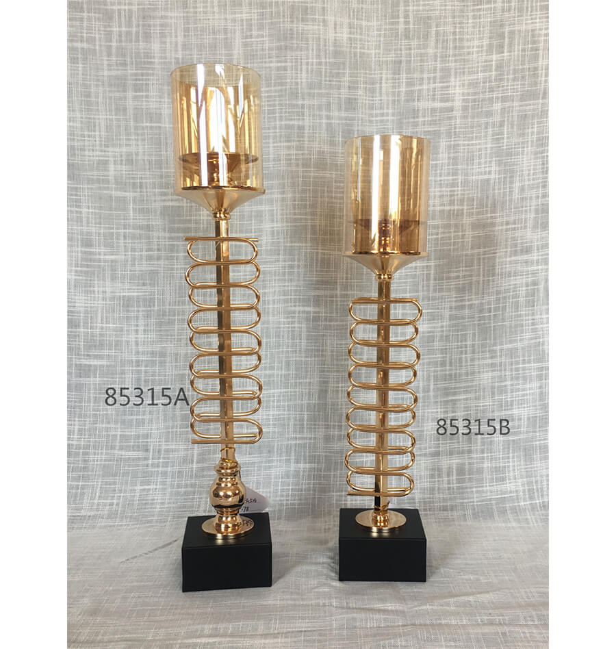 metal candle holder 85315A 85315B
