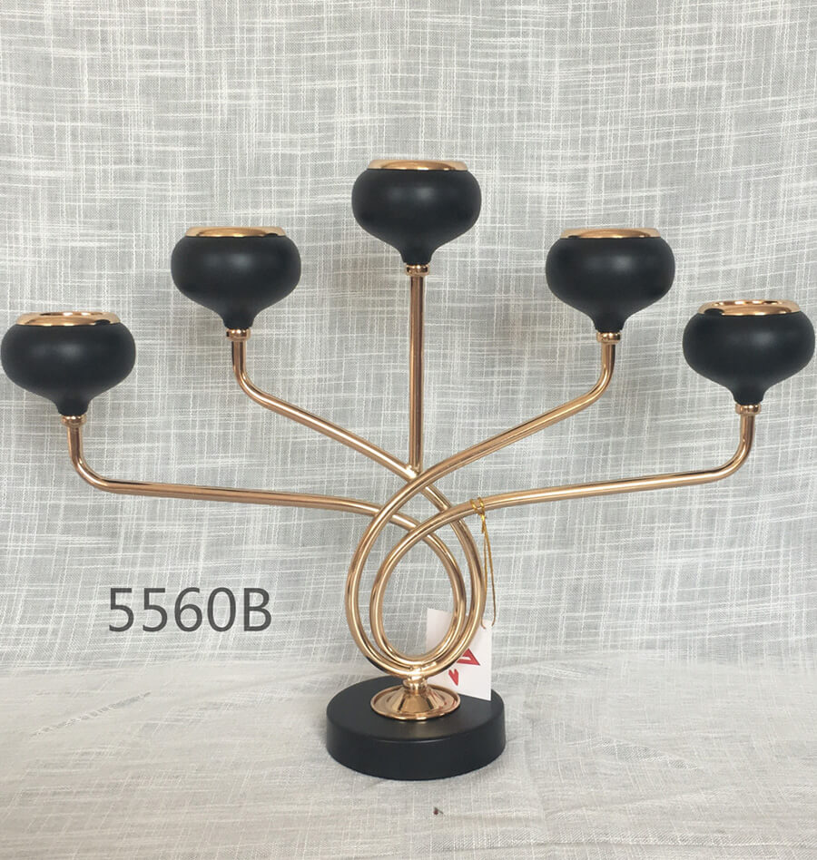 METAL CANDLE HOLDER 5560B