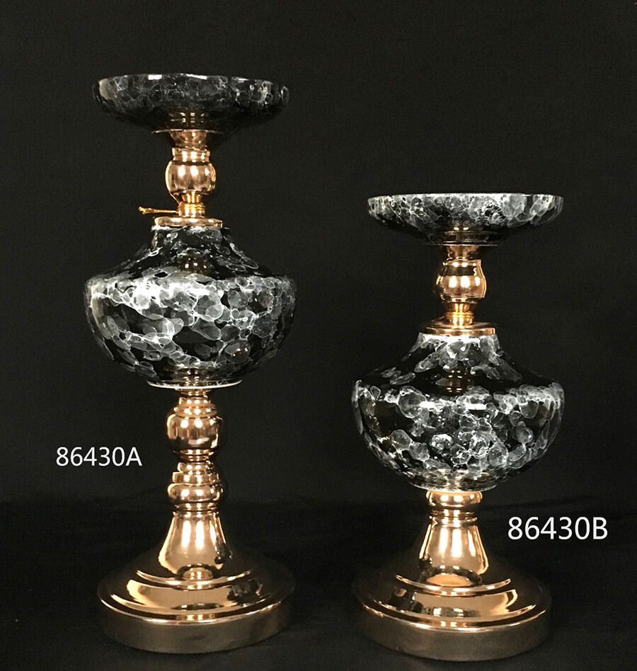 CERAMIC CANDLE HOLDER 86430
