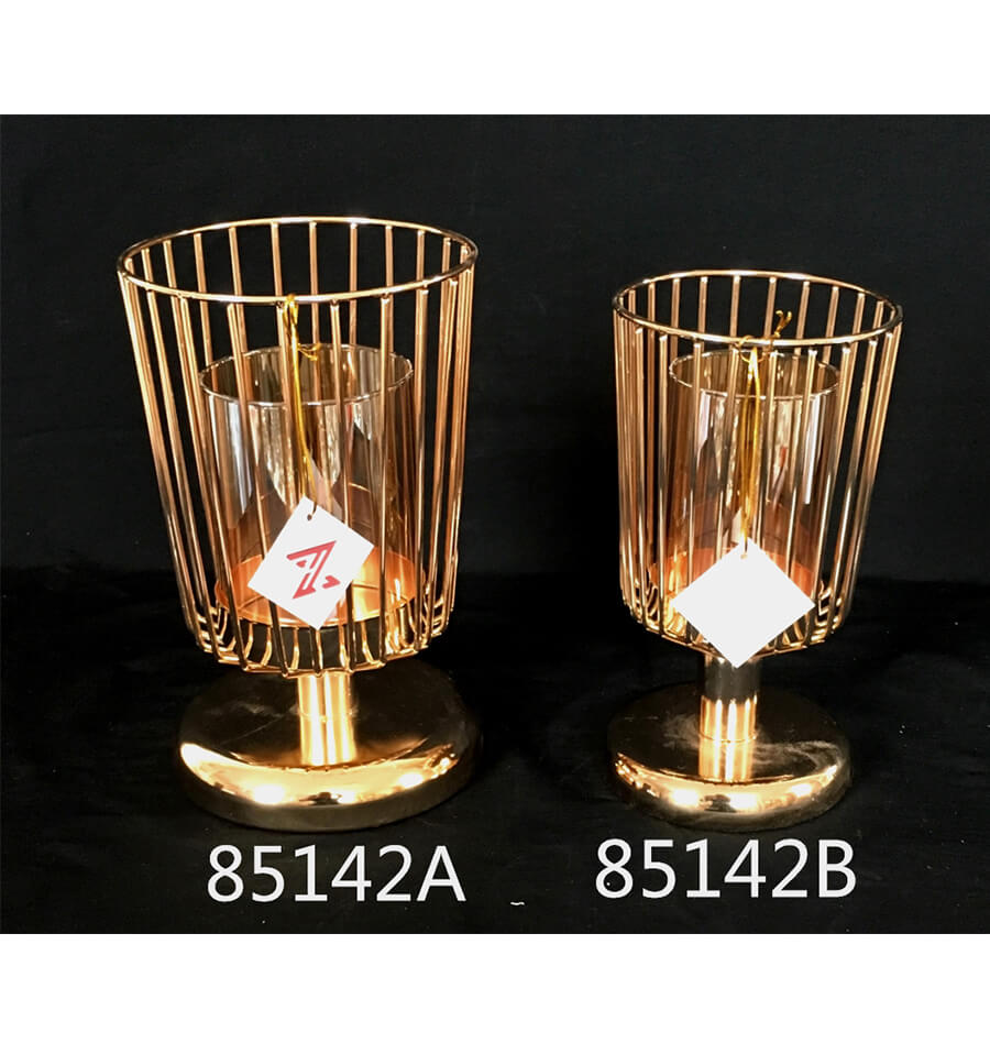 METAL CANDLE HOLDER 85142