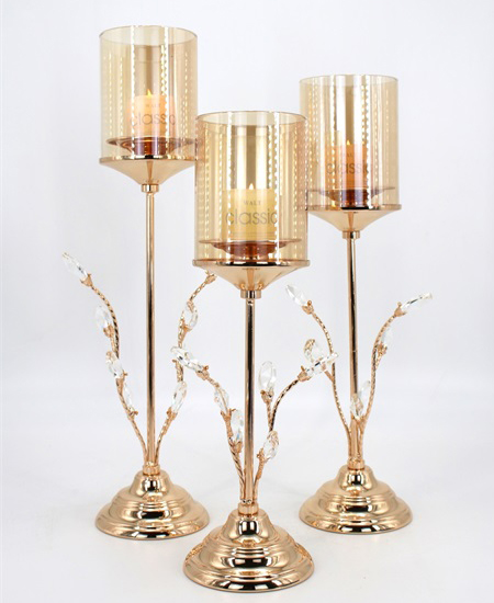 Romantic Wedding Style Luxury Candle Holder Table 89910