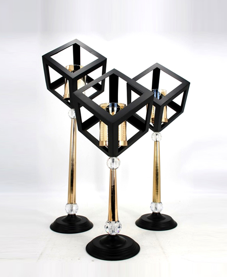 METAL CANDLE HOLDER 91306
