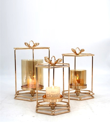 HOT WHOLESALE METAL CANDLE HOLDER FOR HOME DECORATION 91326