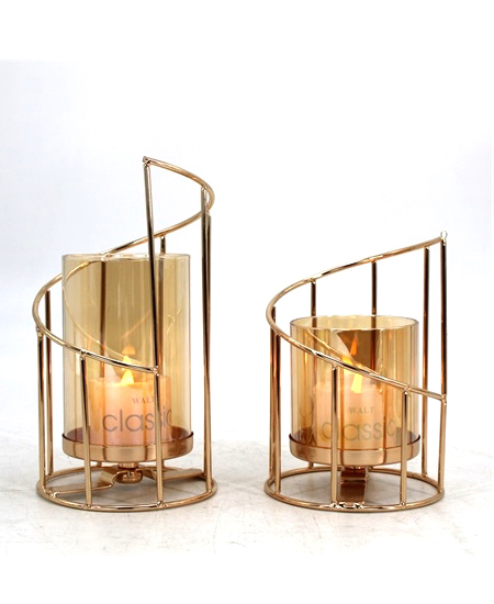 HOT WHOLESALE METAL CANDLE HOLDER FOR HOME DECORATION 91328