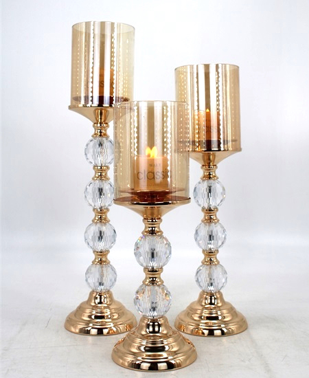 HOT WHOLESALE METAL CANDLE HOLDER FOR HOME DECORATION 91376
